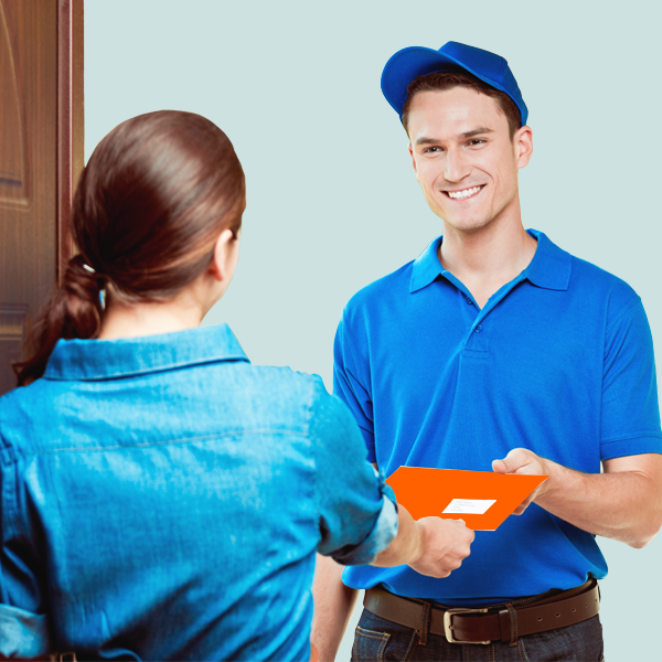 Receive a Money Transfer: Home Delivery